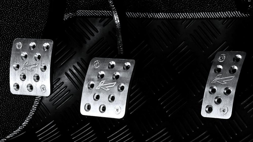 Алюминиевые педали (Land Rover Defender)