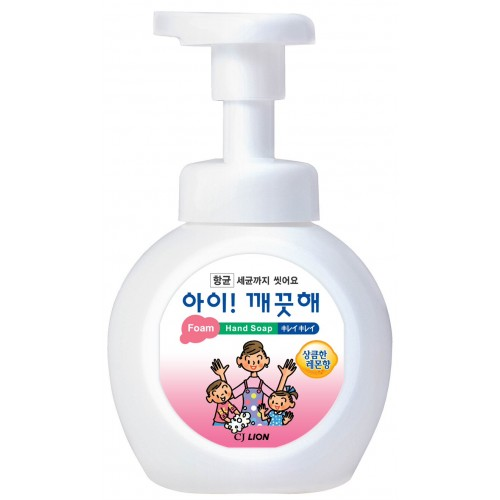 "CJ Lion Пенное мыло для рук ""Ai - Kekute"" с ароматом лимона, флакон-диспенсер, 250 мл"