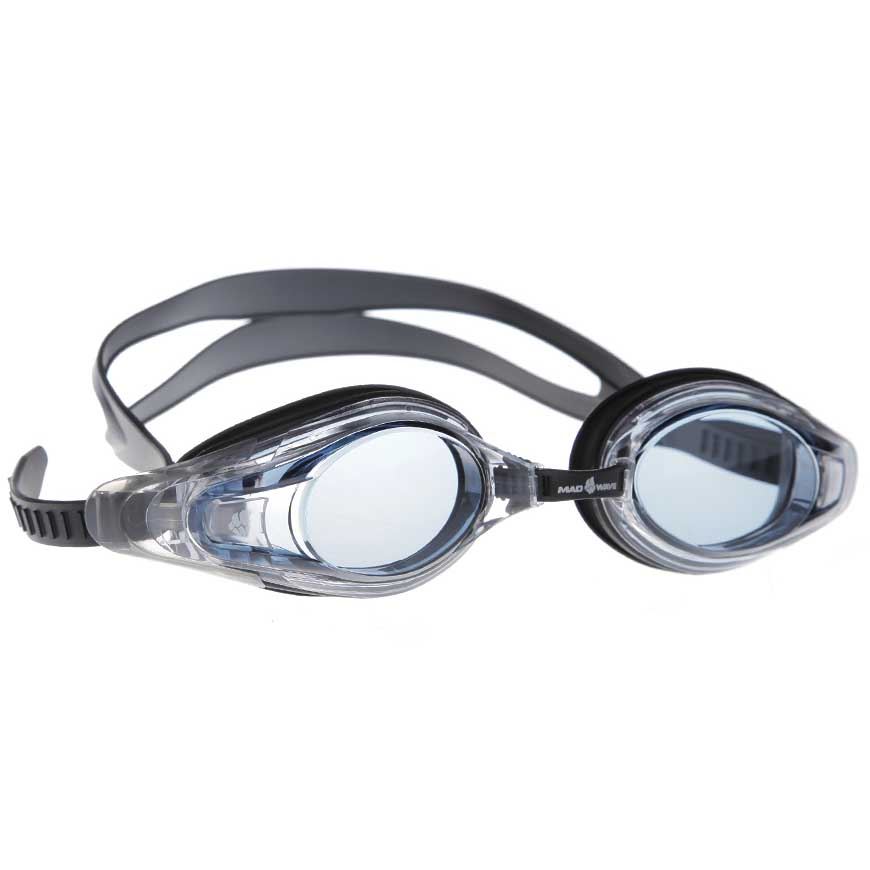 Очки для плавания с диоптриями Mad Wave Optic Envy Automatic черные