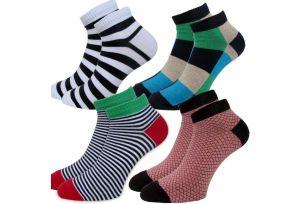 Мужские цветные носки С418К