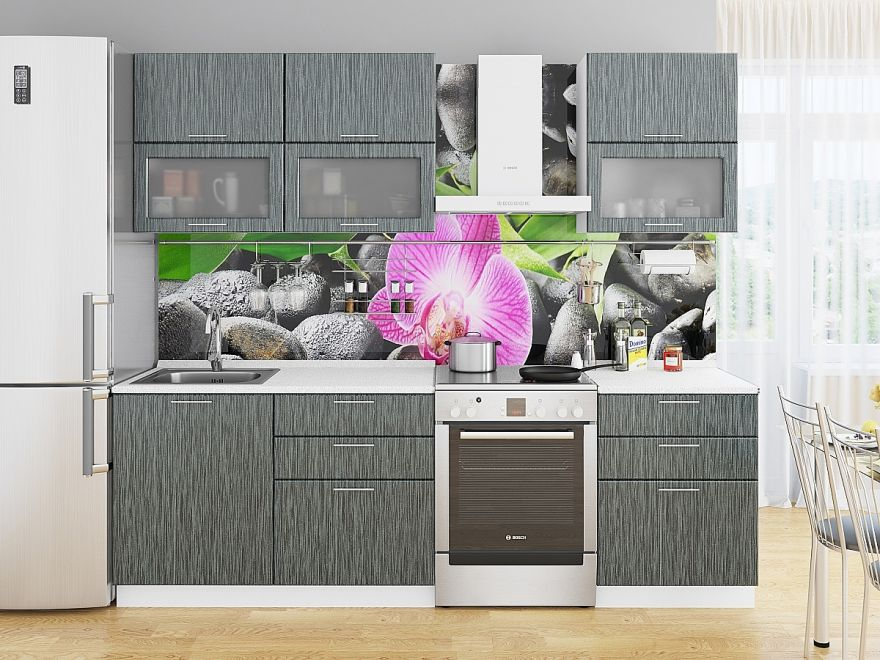 Фартук для кухни «Орхидея» ВИВАТ
