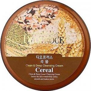 """""""ДП"""" PREMIUM  CLEAN & DEEP CEREAL CLEANSING CREAM Крем для лица очищающий зерновой 300г"""