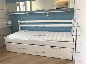 Кровать двухъярусная Дуэт-1 №В, любые размеры