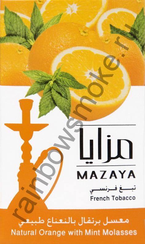 Mazaya 1 кг - Orange with Mint (Апельсин с Мятой)