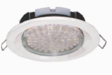 Светильник встраиваемый Ecola GX53-FT3225 глубокий легкий белый 27x109 FW5305ECB