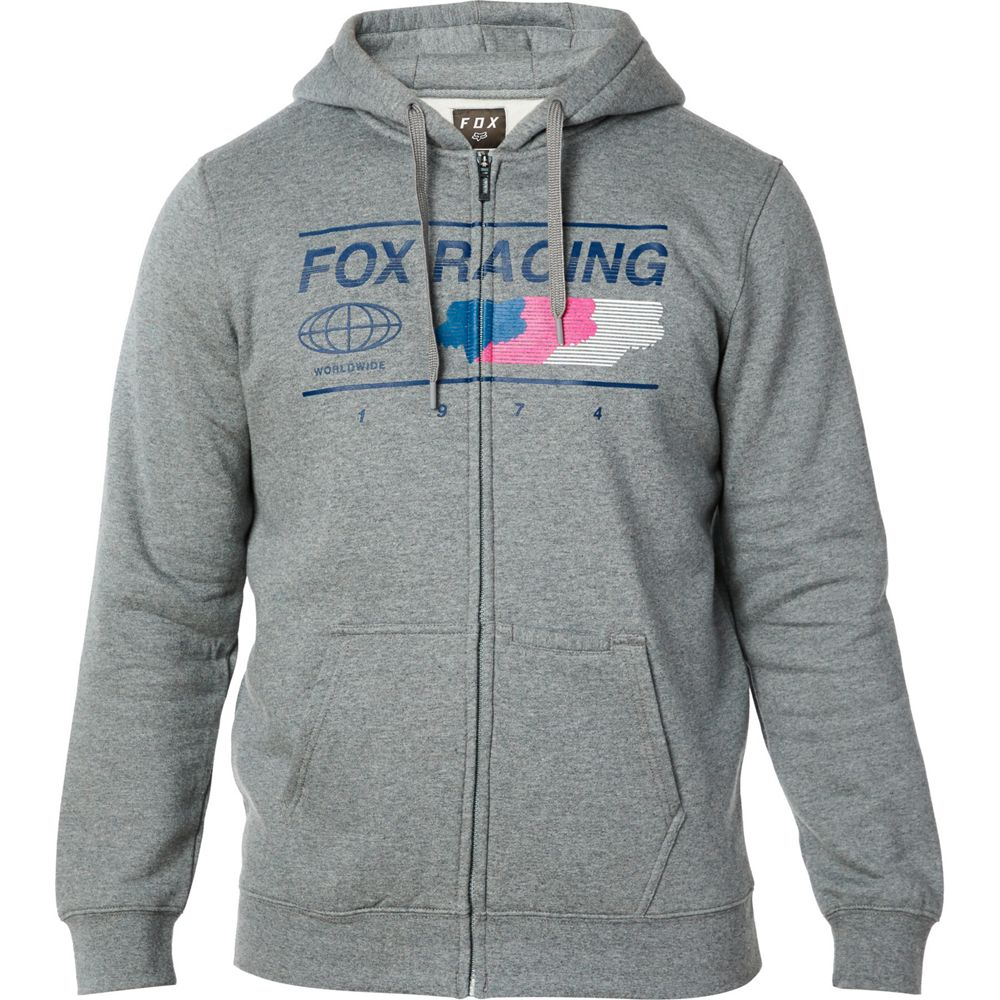 Fox - Global Idol Limited Edition Zip Graphite толстовка, серая