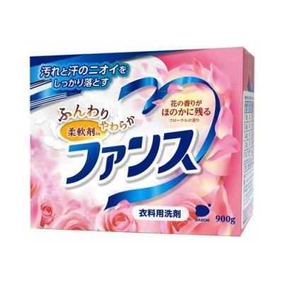 Daiichi Funs Стиральный порошок с кондиционером и цветочным ароматом для всех типов ткани 900 гр (Vietnam)