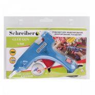 Клеевой пистолет Schreiber для стержней 7мм, 20 Вт (арт. S 960)