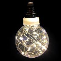 Ретро-лампа со светодиодной нитью, 8 см 1 шт, Цвет: Белый тёплый
