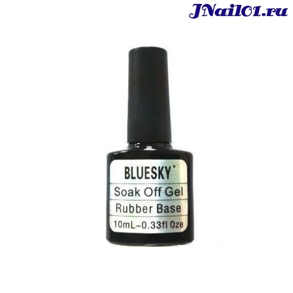 Каучуковая база  Bluesky Soak off Gel Rubber Base