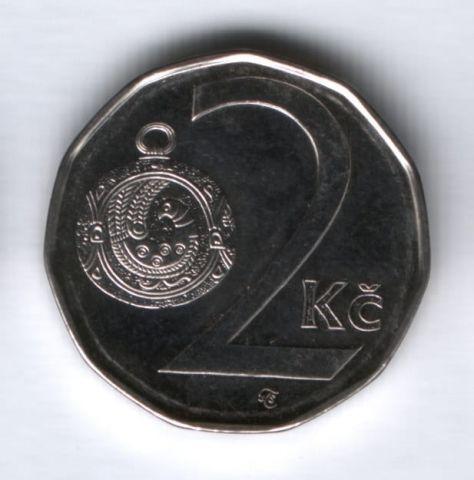 2 кроны 2010 года Чехия