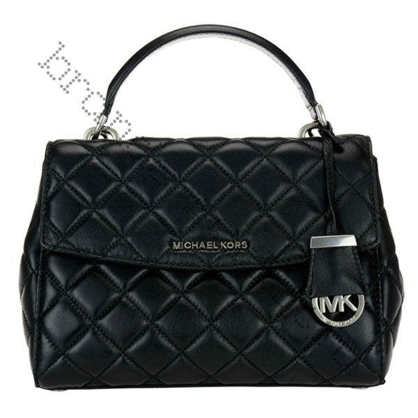 Michael Kors Ava (Black quilted)