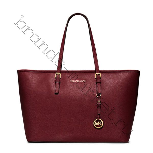Michael Kors Jet Set Travel (Bordo)