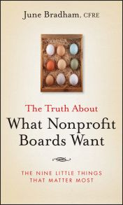 The Truth About What Nonprofit Boards Want. The Nine Little Things That Matter Most