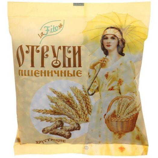 LaFitore Отруби хрустящие пшеничные (кусочками) 100 г