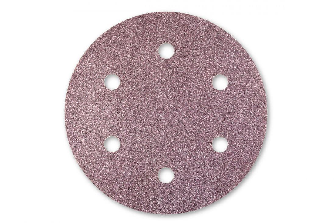 Sia 1950 Siaspeed абразив в кругах, 77мм., 6 отверстий, P150, (пачка 100 шт.)