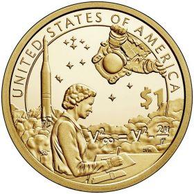Мэри Голда Росс 1 доллар США  2019  монета из серии «Американские индейцы» Монетный двор на выбор