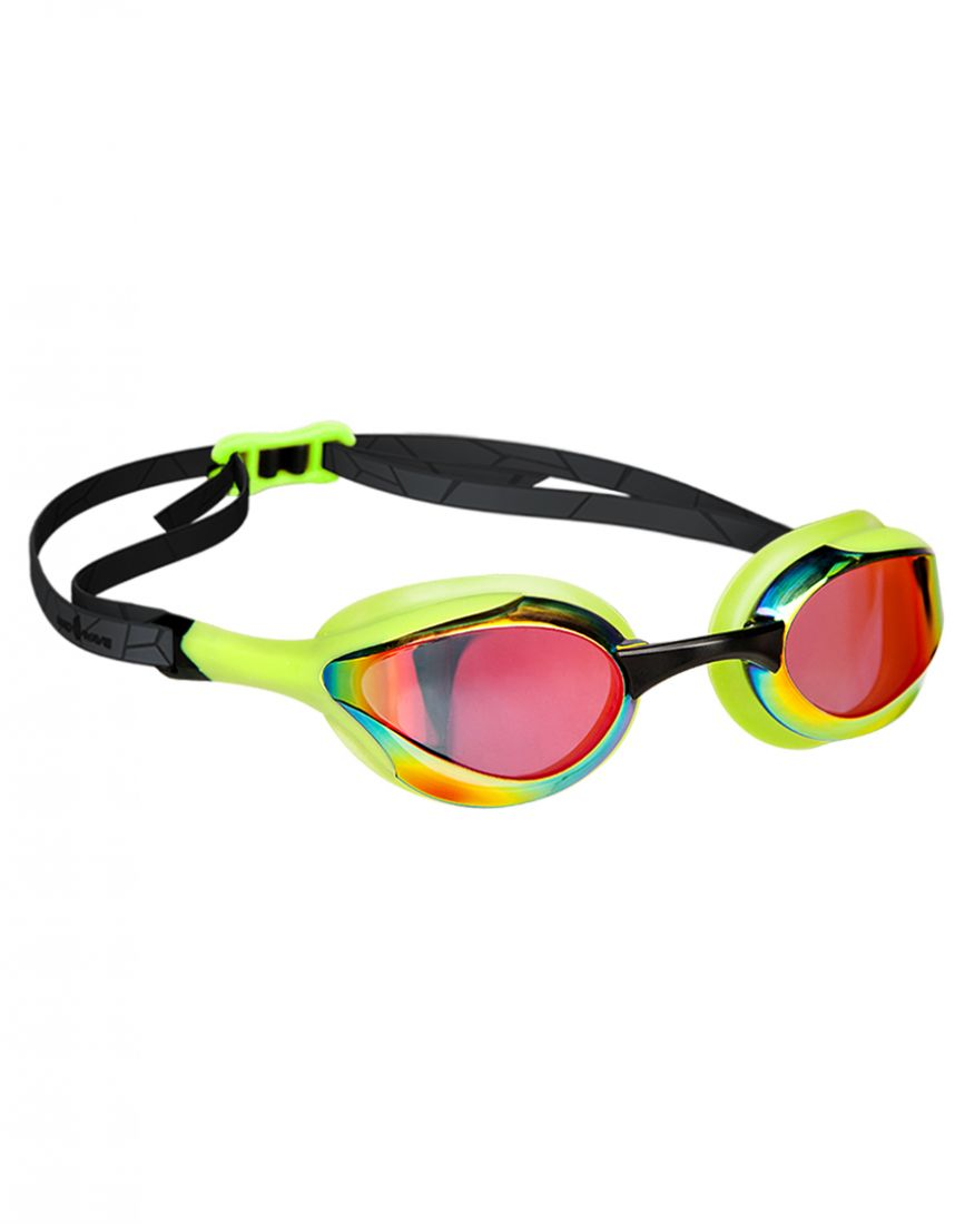 Очки для плавания тренировочные Mad Wave ALIEN Rainbow