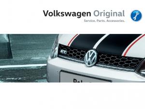 Решетка бампера центральная VAG Volkswagen Polo Sedan GT