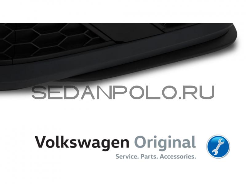 Спойлер бампера левый Volkswagen Polo GT