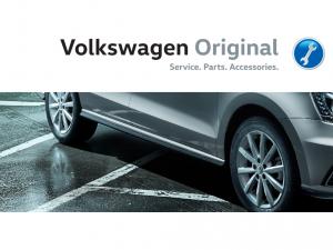 Накладка порога правая Volkswagen Polo GT