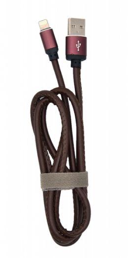 Кабель USB 2А Орбита KM-150 (iPhone5/6/7) 1м