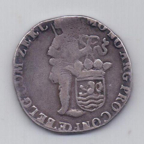 1 талер 1705 года Редкий год Зеландия Нидерланды