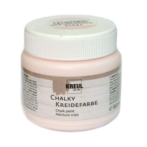 Краска меловая Chalky Kreidefarbe, Mademoiselle Rose, (Мадмеузель Роза), 150 мл
