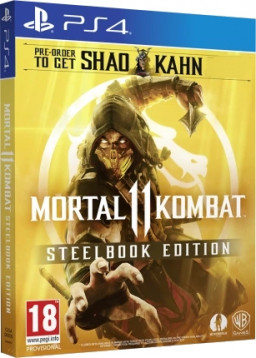 Игра Mortal Kombat 11 Steelbook Edition (PS4)
