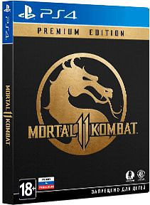 Игра Mortal Kombat 11 Premium Edition (PS4)
