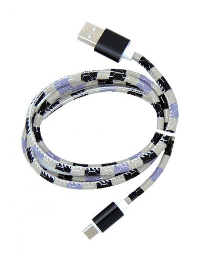 Кабель USB 2.4А Орбита KM-154 (TYPE C) 1м