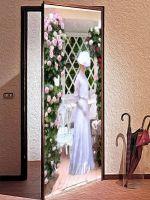 Наклейка на дверь - Mrs. Stickers | Интерьерные наклейки