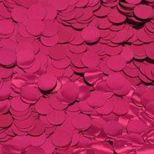 Конфетти фольга, кружки, фуше, 50 гр, 1 см