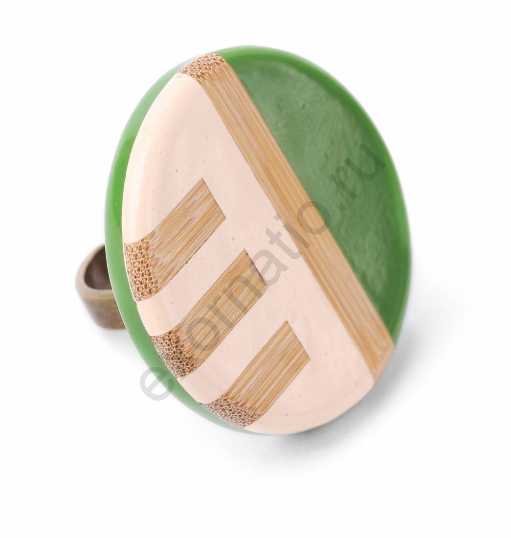 Кольцо NATURE BIJOUX 19-22982. Коллекция Bamboo