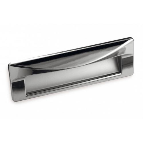 Ручка раковина FR-007 128 Cr глянцевый/St светлый (ТЗ)