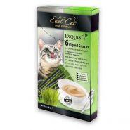 Edel Cat Крем - суп с Ливерной колбасой и травами (Лакомство для взрослых кошек), 6 шт х упаковка