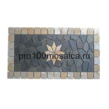 FK-901 сланец. Панно. Брусчатка серия PAVING,  размер, мм: 1000*500*10 (NS Mosaic)