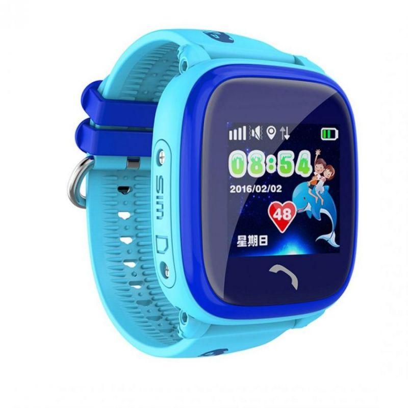 Водонепроницаемые Умные Детские Часы Smart Baby Watch DF25G (GW400S), Цвет Голубой