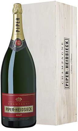 Champagne Piper-Heidsieck Brut (wooden gift box)