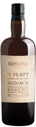 Whisky 'S Peaty 1995 Blended Malt Scotch