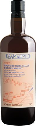 Whisky Macduff Sherry 1997 Speyside Single Malt Scotch