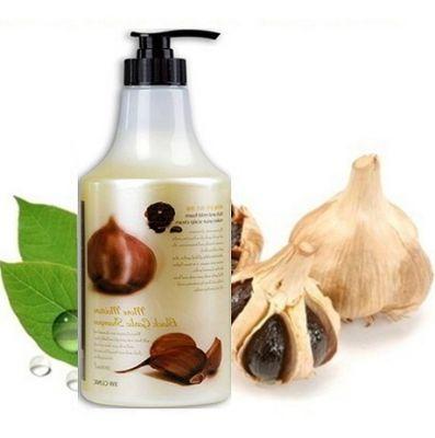 3W Clinic More Moisture Black Garlic Shampoo Увлажняющий и восстанавливающий шампунь с экстрактом черного чеснока