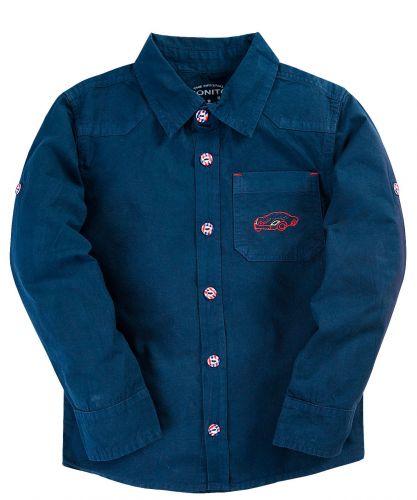 Рубашка для мальчика 2-5 лет Bonito BK821P3