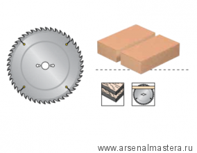 Пильный диск для древесно-плитных материалов, ДСП, фанера DIMAR 300x30x3.2/2.2x96  арт.90105806