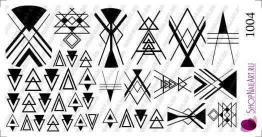 Слайдер дизайн 1004 - Геометрические символы