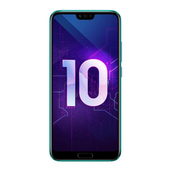 Honor 10 4/128 ГБ (мерцающий зеленый)