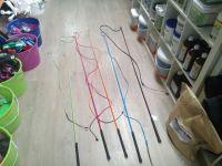 Бич цветной углепластиковый LAMI-CELL - 180 + 180 см