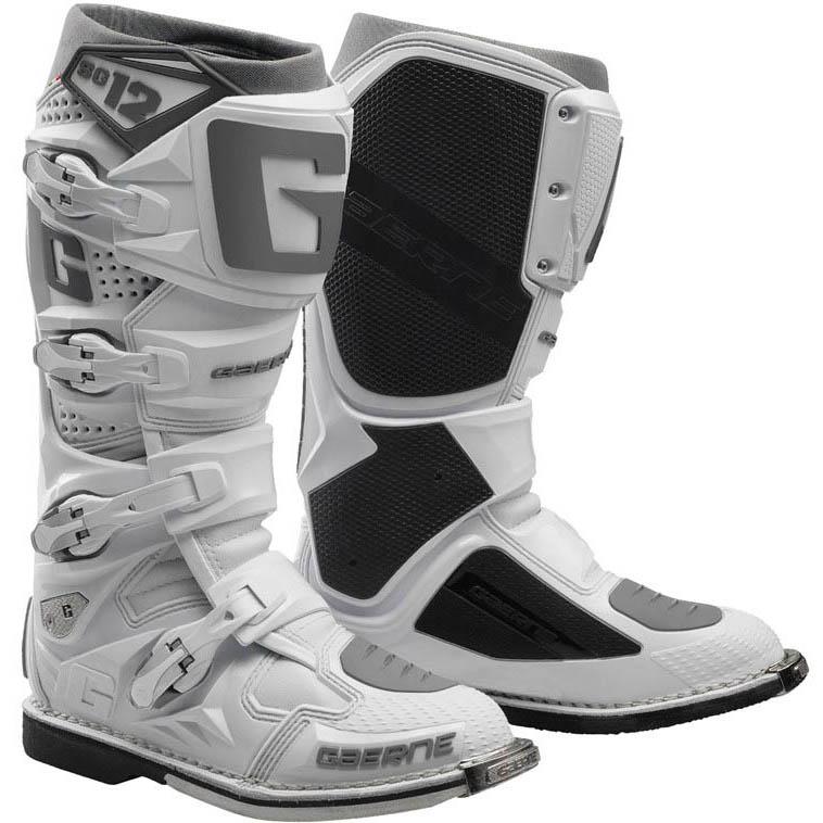 Gaerne - SG-12 Ghost White мотоботы, белые