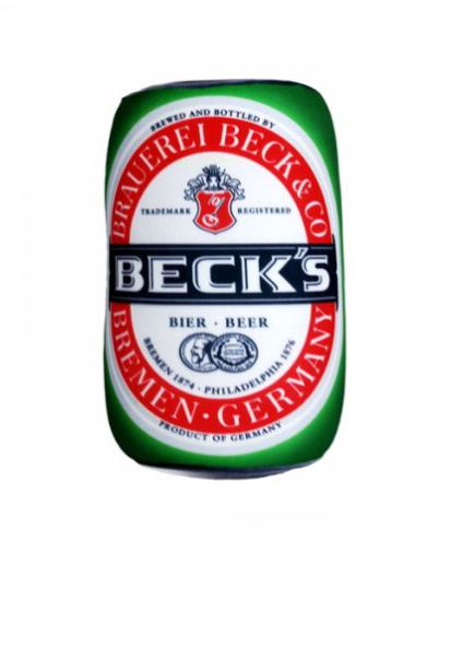 "Подушка-мнушка ""Бочонок пива"" 19х11х11 см"