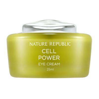 Крем для кожи вокруг глаз с растительными стволовыми клетками Nature Republic CELL POWER EYE CREAM 25мл